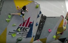 Video competencia: 2a Prueba de la Copa Catalana de Escalada en Boulder 2015