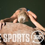 Video interactivo; Deep Water Solo con escaladora Sierra Blair-Coyle por Vice Sports