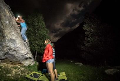 Cavallers, sector de escalada en búlder de los Pirineo Catalanes