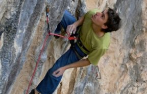 Danilo Pereira, escalador argentino