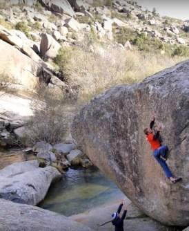 2 Video de escalada; Boulder en La Pedriza – España