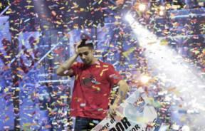 Escalador Sergio Verdasco ganador del Ninja Warrior España 2017