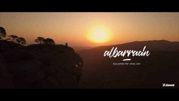 Video escalada boulder; Bouldering Albarracín 2018
