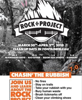 Escalada Responsable: Black Diamond Fontainebleau Clean Up 2018