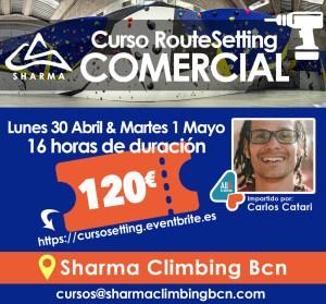 Curso RouteSetter por Carlos Catari en Sharma Climbing Barcelona @ Sharma Climbing Barcelona | Barcelona | Catalunya | España