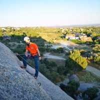 Escalada deportiva en Torrelodones Elefantito