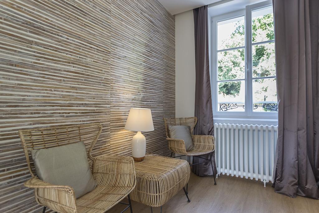 Salon privé chambre Bambou
