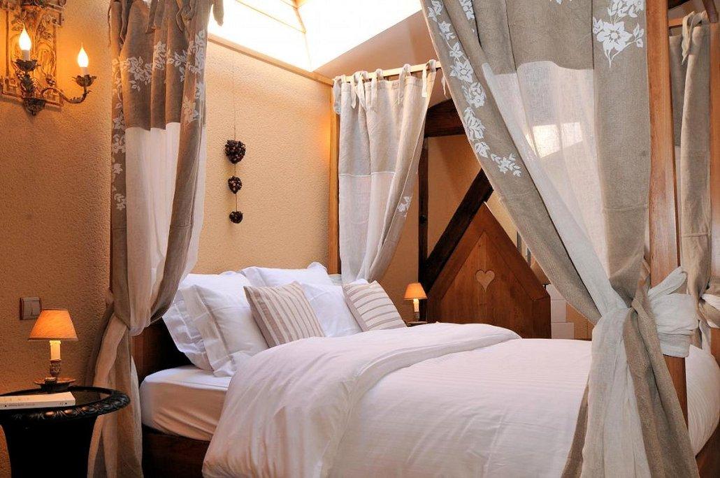 La Loge Vigneronne, Changy (Marne) : chambre