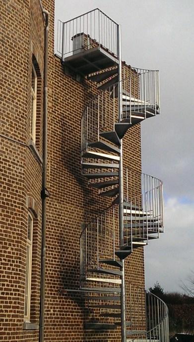 Escalier en Belgique