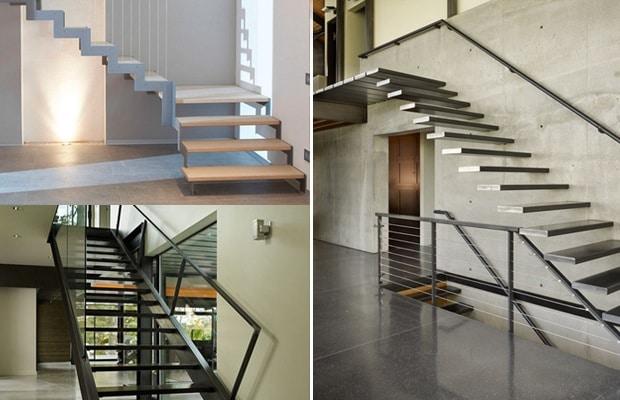 escalier metallique realisations