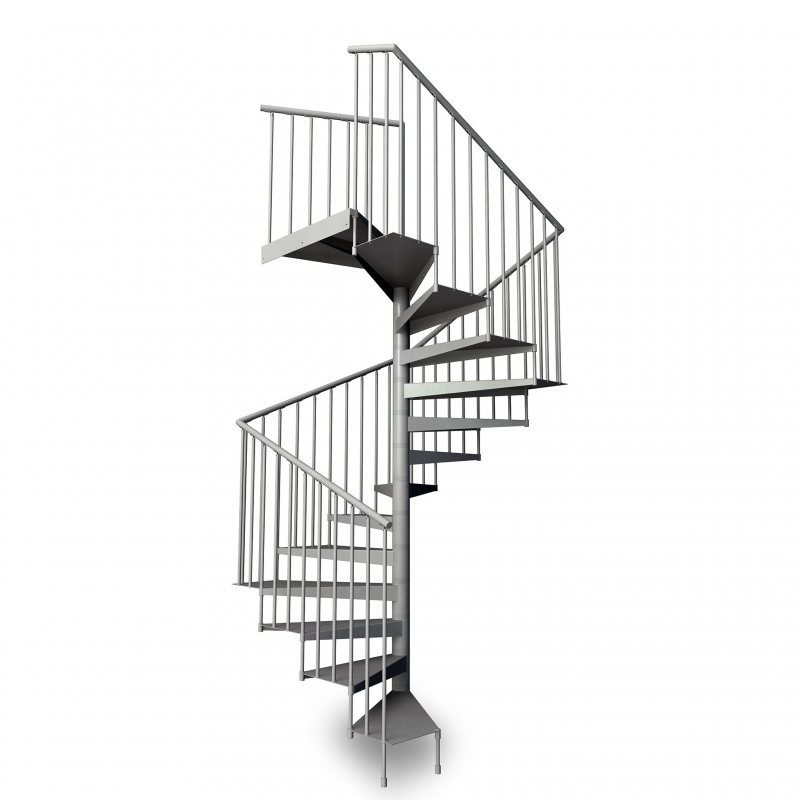 metalis carre escalier colimacon en metal