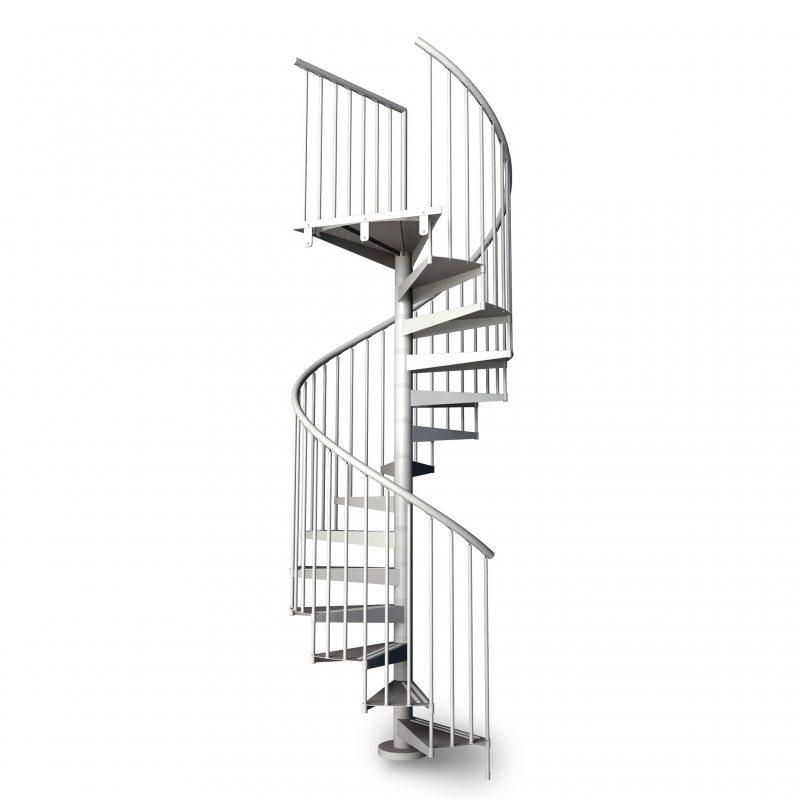 metalis rond escalier colimacon en metal