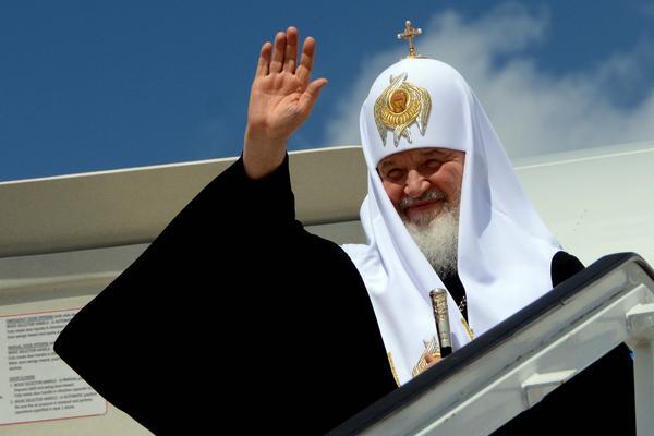 Su Santidad Kirill se despide de Cuba. (Foto ACN)