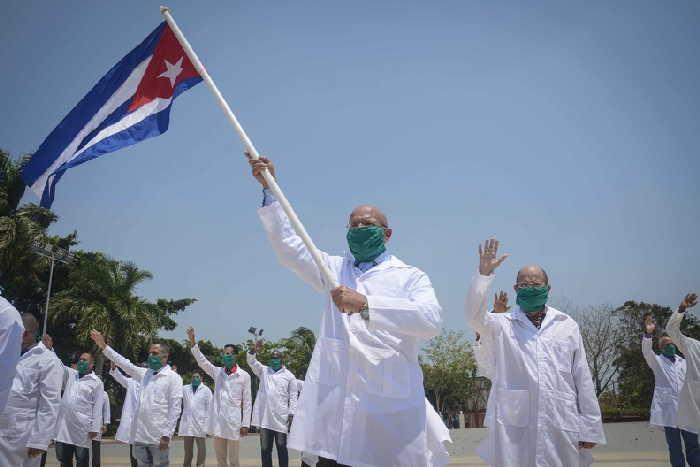 cuba, estados unidos, coronavirus, solidaridad, medicos cubanos, covid-19, contingente internacional henry reeve