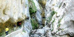 cares, senderismo en asturias