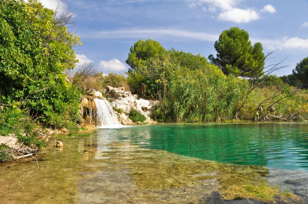 Resultado de imagen de piscina natural Lagunas de Ruidera