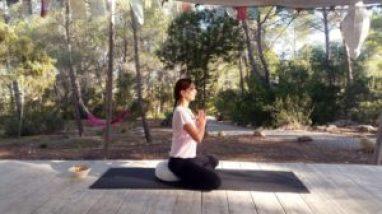 SIS Escapadas Spa visitando el retiro de yoga y meditación Rosa Yoga