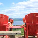 Noé et Elisa au Canada, le pays des Orignaux