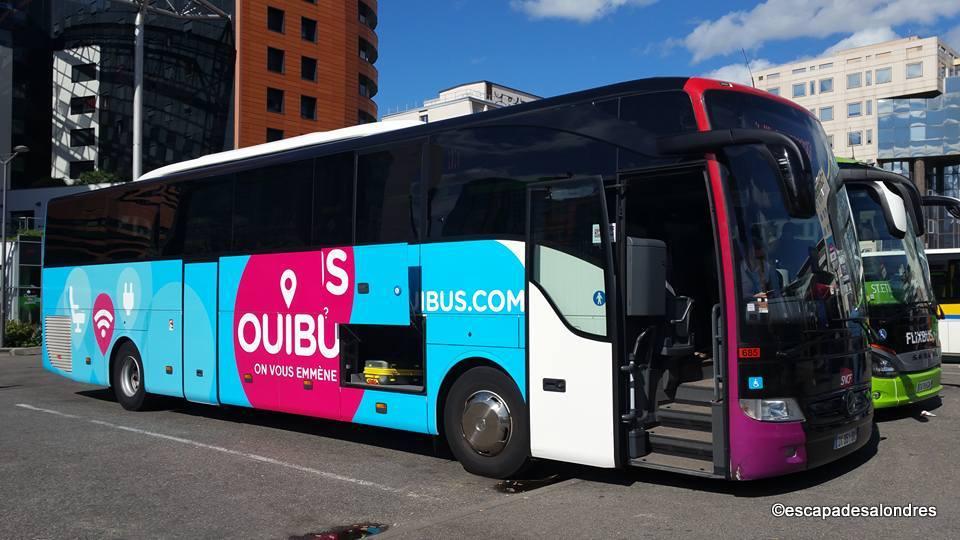 Les petits prix des Bus pour partir  Londres