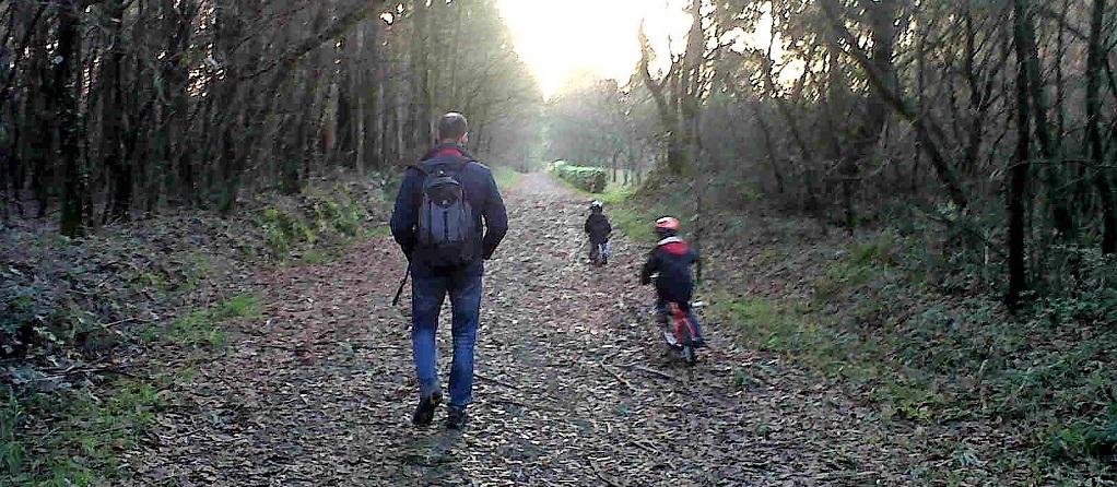 Arzúa y su tramo del Camino de Santiago, con niños