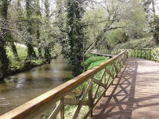 Paseo fluvial Río Anllóns