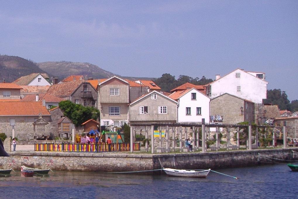 Poio y Combarro (Pontevedra), con niños