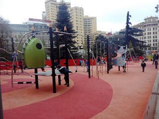 A Coruña con niños: el parque infantil de Cuatro Caminos