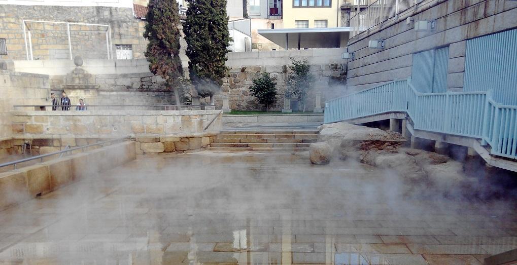 Las termas de Ourense como experiencia turística