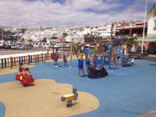 El Parque Infantil de Varadero, en Puerto del Carmen