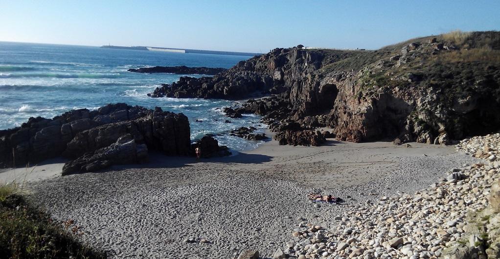 Las playas y el paseo litoral de Arteixo, con niños