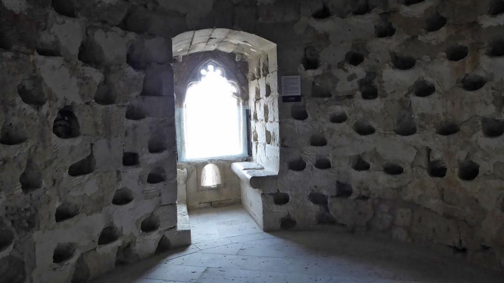 El Castillo de los Sarmiento (Palencia), con niños