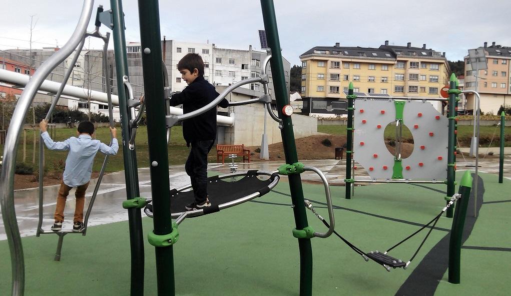 El parque infantil de Vilarrodís