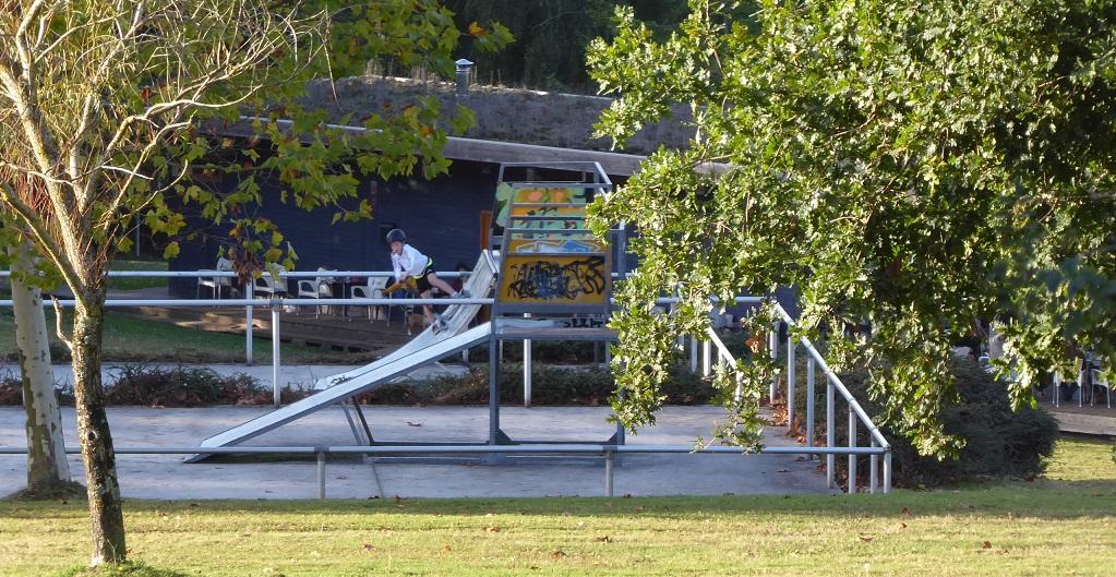 Diez excursiones con parque skate, con niños