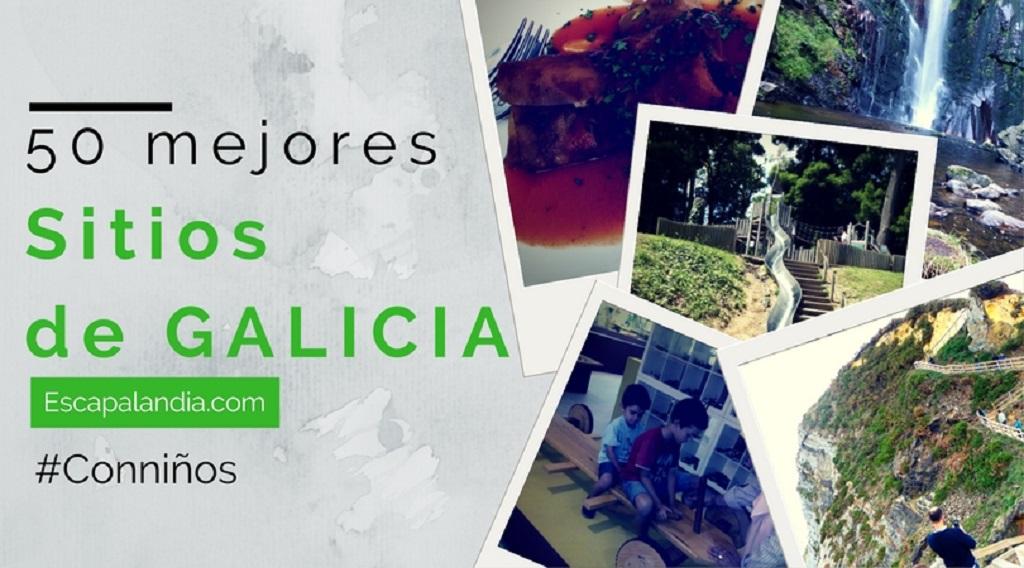 50 sitios que ver en Galicia con niños