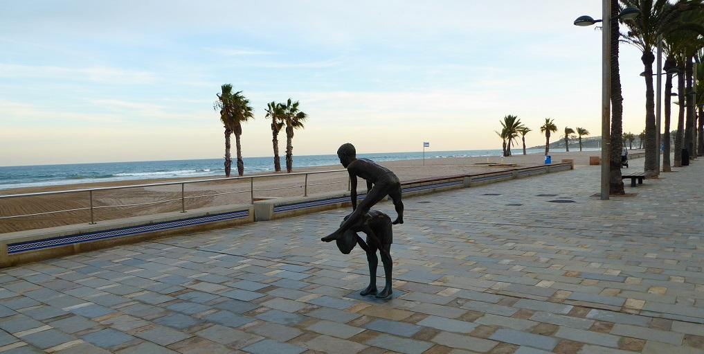 Mediterráneo con niños: la playa de San Juan
