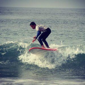 ocio con adolescentes surf