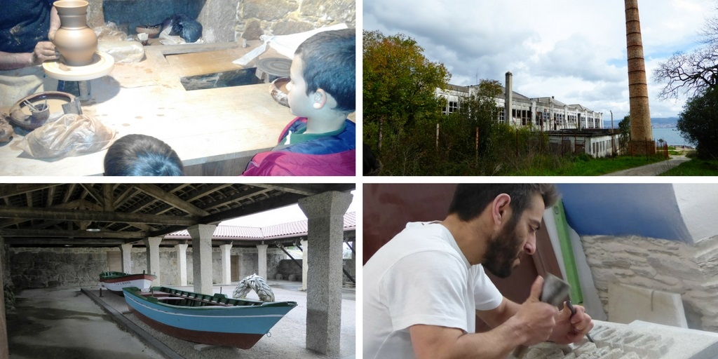 Turismo industrial en Galicia con niños