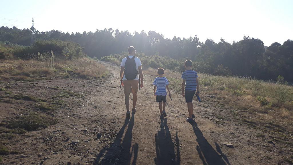 Senderismo por A Coruña con niños: Pena da Regacha