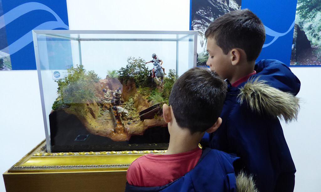 Las Médulas con niños: los antiguos canales romanos