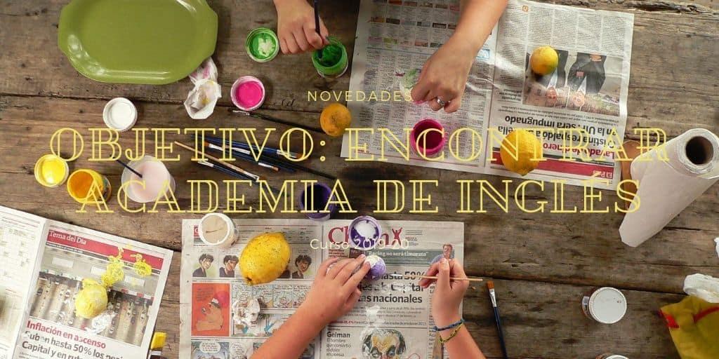 Objetivo: encontrar academia de inglés en A Coruña