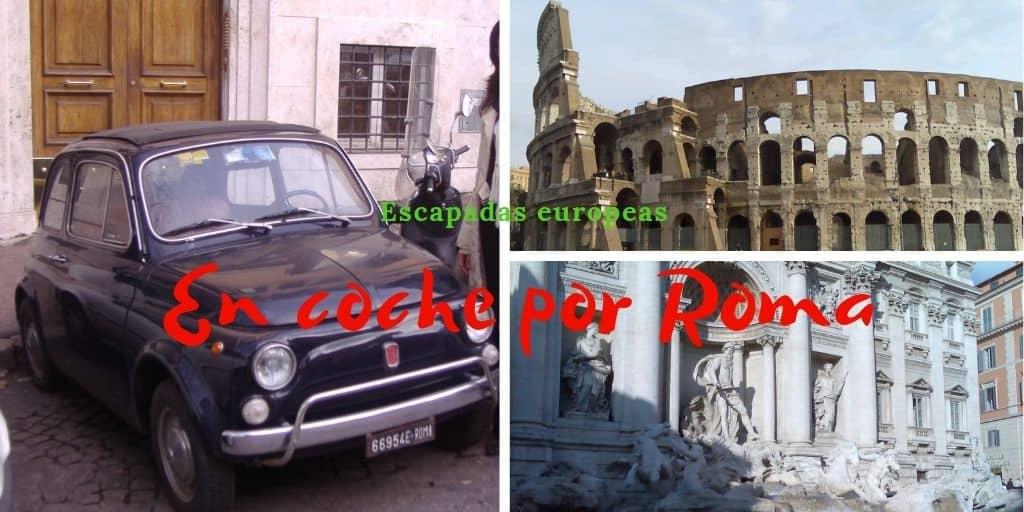 Un recorrido en coche por Roma