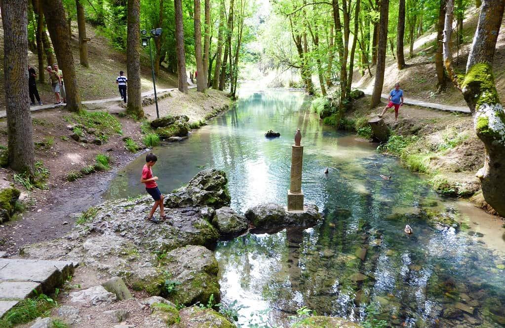 Excursión al nacimiento del  Ebro con niños