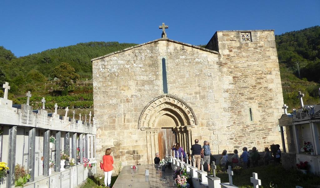 Románico en la Ribeira Sacra Atán visitas