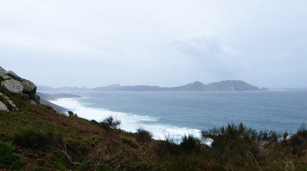 Illas Cíes desde Costa da Vela