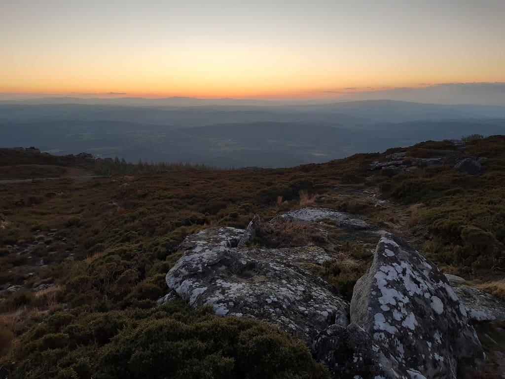 Formaciones rocosas en Monte Farelo