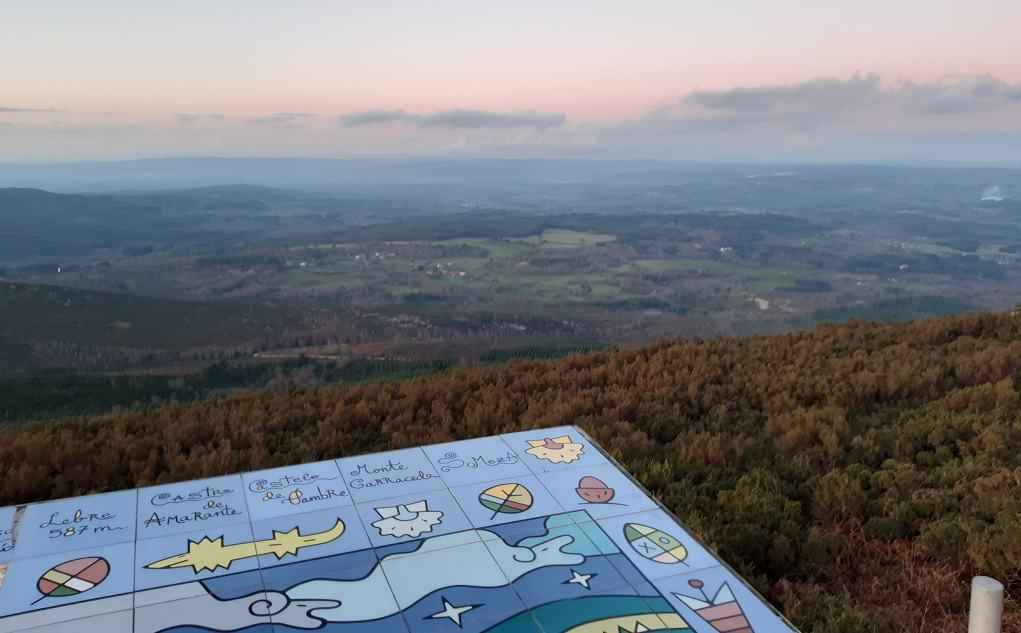 El mirador de Monte Farelo