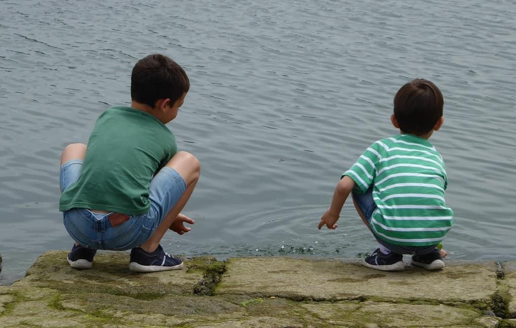 Condiciones para pasear con niños puerto