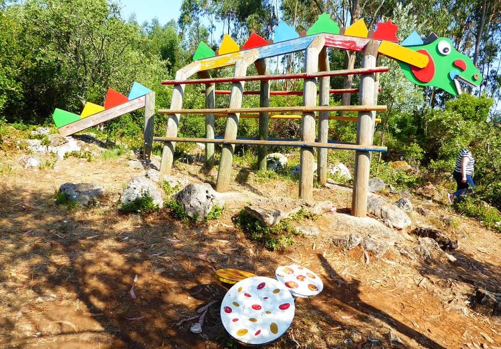 El Ecoparque sensorial de Batalha: Pia do Urso
