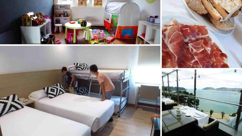 25 hoteles con habitaciones familiares