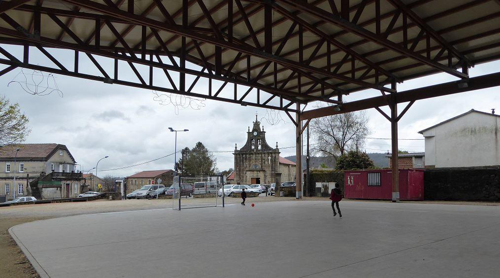 Canchas deportivas cubiertas en Galicia
